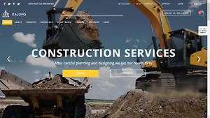 Construction plumbing Website For Sale Showcase Your Business
