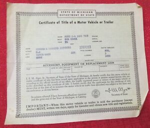 1931 Ford A4 Box Truck Historical Memorabilia Vintage Document Man Cave Art