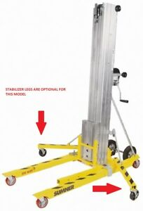New Sumner 783651 18 Heavy Duty Portable Contractor Material Lift