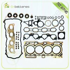 Head Gasket Set For 07 11 Fit Nissan Altima Electric Dohc Engine Code Qr25de