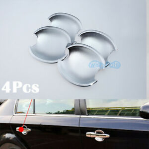 4x Accessories Chrome Door Handle Bowl Covers For Vw Passat B5 Golf Mk4 4 doors