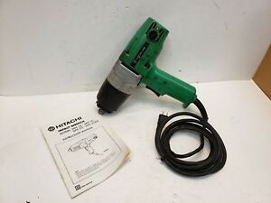 Hitachi Wh16 1 2 Drive Electric Impact Gun 4 2 Amp Reversible Free Shipping