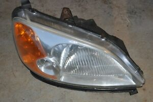 2001 Honda Civic Ex Coupe Right Passenger Headlight Lens Oem Honda Lens W Mount