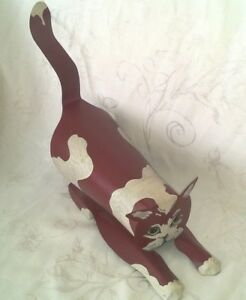 Vintage Edna Young Metal Kitty Cat Shadow Dancer 87 Angelica Ny 16 99