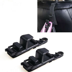 Black Car Seat Back Hook Head Rest Storage Hanger Bag Pouch Holder Organizer Hot