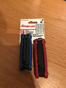Snap On Hex allen Key Set Metric And Imperial 2piece Set New