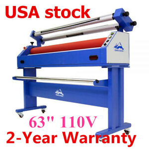 Us 63 Master Mounting Cold Laminator Semi auto Wide Format Laminating Machine