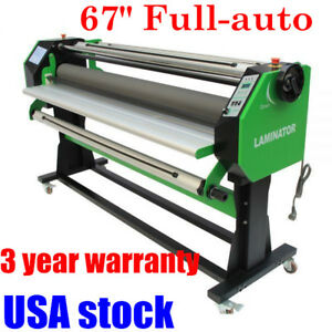 Us 67 Full auto Stand Frame Single Side Wide Format Cold Hot Laminator stand