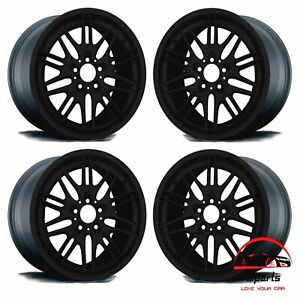 Set Of 4 Bmw M5 2000 2001 2002 2003 18 Factory Original Staggered Wheels Rims