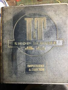 i t Service Manuals Tractors Oliver Mm Case deere Massey More Lot