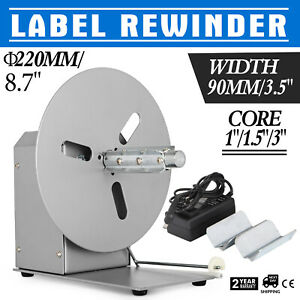 Label Tags Rewinder Rewinding Machine Automatic Simple Operation Efficiency