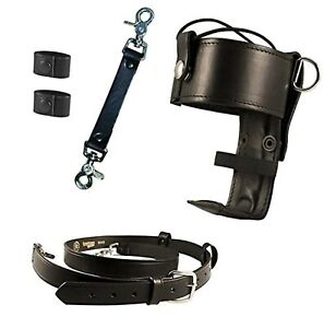 Boston Leather Firefighter s Bundle Anti sway Strap For Radio Strap Radio S