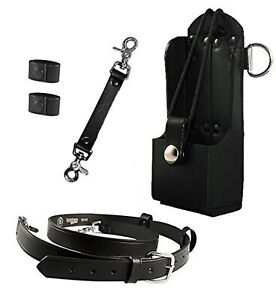 Boston Leather Firefighter Bundle Anti sway Strap For Radio Strap Radio Str