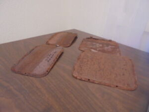1942 1946 1947 1948 Chevrolet Fleetmaster Fleetline Door Access Panel Covers