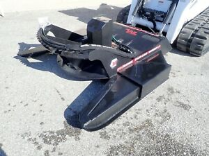 Vail 77 Brush Mower Attachment For Skid Steer Loaders Std Flow Quick Attach