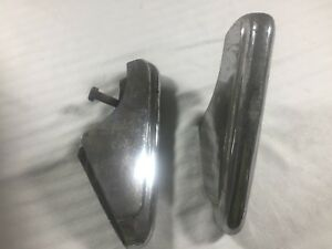 Pair Of 1949 1950 Ford Bumper Guards 49 50 Oem Guard