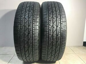 Matching Pair Of 2 High Tread Tires 265 70r17 Firestone Destination Le 2