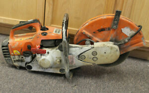 Stihl Ts400 Gas Powered Concrete Cut off Saw 14 Used Free Shipping