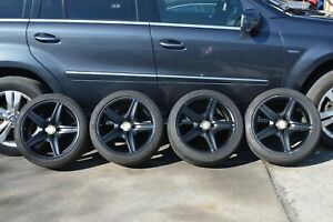 2007 Mercedes E63 E55 Amg Cls550 Cls55 Rims Wheels Tires 18 Inch Staggered
