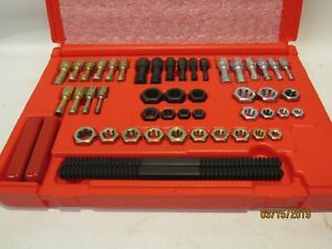 Snap On 48 Piece Master Rethreading Tap And Die Set Metric Rtd48