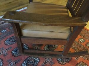 Stickley Rocking Chair 1914 To 1918 Stickley Rocker