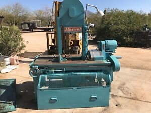 Marvel Vertical Band Saw Model 8 m1