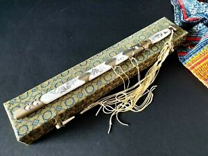Old Chinese Mini Sword Letter Opener In Gift Box Beautiful Collection Gift