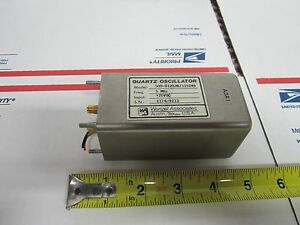 Wenzel Low Phase Noise 5 Mhz Quartz Oscillator Frequency Standard Bin 8c