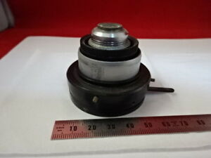 Vickers England Photoplan Condenser Iris Optics Microscope Part As Is 90 b 58