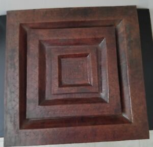 Copper Trays Hand Hammered