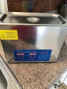 6l Tank Capacity Dental Stainless Digital Ultrasonic Cleaner 120w Power Ps 30a