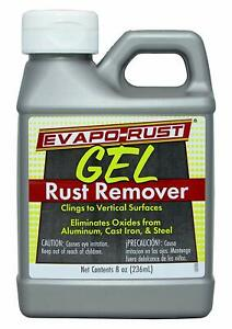 Evapo Rust 8oz Gel Rusty Surface Rust Cleaner Rust Remover