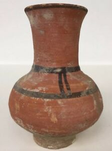 Lovely Indus Valley Harappan Civilization Terracotta Vase Circa 2600 Bc