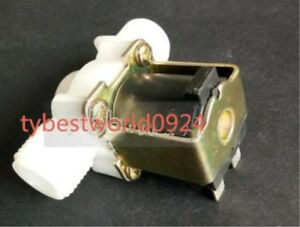 New 1pc Plastic Electromagnetic Valve Dc12v Normally Closed Water Inlet Valve