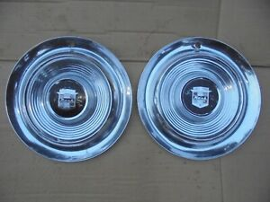 1957 57 Nash 14 Wheel Covers Hub Caps