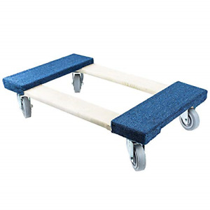 Troy Safety Furniture Movers Dolly 30 Length X 17 Width Soft Gray Non marking