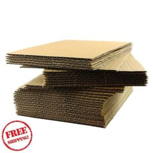 Corrugated Sheet Pads For Shipping Packing Moving Quality Cardboard Single Wall