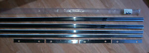 Model A Ford 1928 29 Accessory Stainless Steel Running Board Trim Save 40