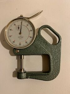 Frank Dial Indicator Thickness Gauge 01 Mm
