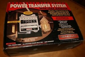 New Generac Portable Generator Power Switch Transfer System Load Manager 1276