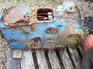 Vintage Ford 4000 Gas Tractor select O Speed Trans Parts 1964