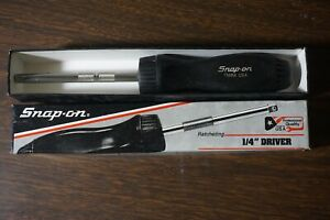 Super Snap On 1 4 Drive Ratcheting Driver Tmr4 Unused In Box Wow