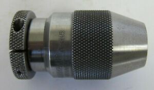 Albrecht Keyless Drill Chuck With Jacobs Straight Arbor Model 65 J1