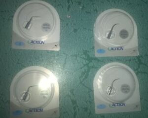 4 X Satelec Acteon Scaling Tips Numbers 1 2 3 And 10x Free Shipping
