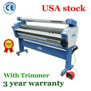 Qomolangma 63in Full auto Heat Assisted Large Format Cold Laminator With Trimmer