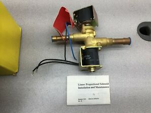 New In Box Parker 12vdc Ana loid Linear Proportional Solenoid Valve 30300