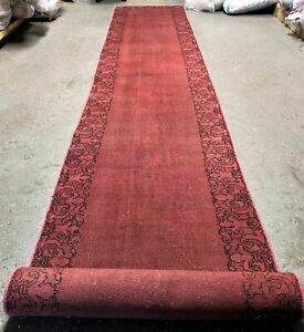 Vintage Persian Runner Rug Saraband Mir 3 X15 6 Hand Knotted Wool Pile Carpet