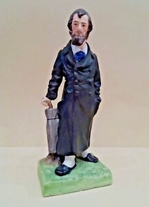 A Porcelain Figurine Of A Jew By The Gardner Porcelain Factory Russian Moscow
