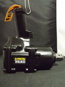 Central Pneumatic 1 Pistol Grip Air Impact Wrench eb87