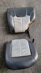 Rear Driver S Side Leather Seats Overland 2002 2003 2004 Jeep Grand Cherokee Wj